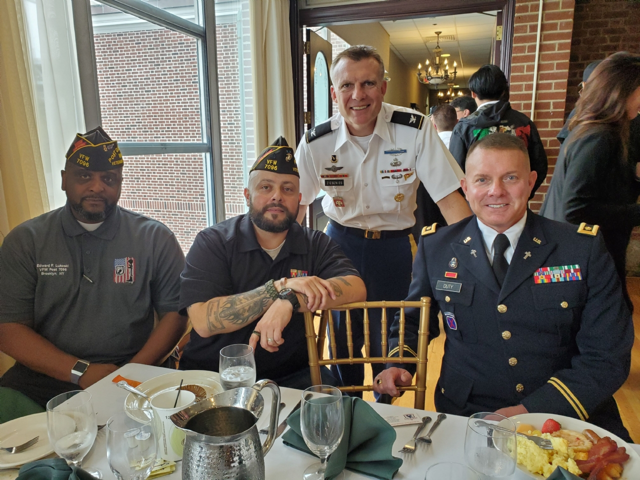 This Event was hosted by NYS Senator Gounardes and Councilman  Brannan, On USAG Fort Hamilton. 